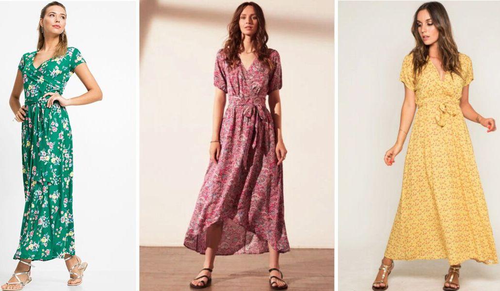 Les robes tendances pour le printemps-été de l'année 2021